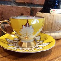 Vintage Teacup and Saucer by Royal Sealy China by HappyLilac, $31.00