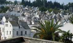 Greatest Architectural Trulli Unique Buildings,  Alberobello, Italy