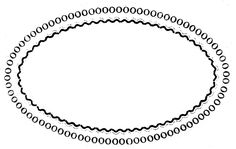 Vintage Clip Art - Clothing Ad - Oval Frame - The Graphics Fairy