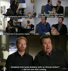 Cam and Mitchell Modern Family, one of my favorite lines of all time