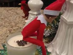 ELF ON THE SHELF ill have to use that one!