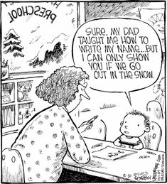 Speed Bump by Dave Coverly for December 2003 - GoComics Speed Bump Comic, The Far Side, Funny Cartoons, Just For Fun, My Dad, Bible Quotes, Comic Strips, You And I, Funny Pictures
