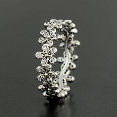 Pandora Dazzling Daisy Meadow Ring - 190934CZ
