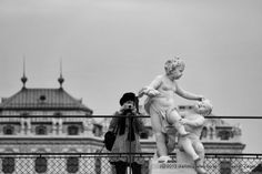 September - Das Schloss Belvedere Statue, Vienna, Lady, September, Photos, Nice Asses, Photo Illustration, Sculpture, Sculptures