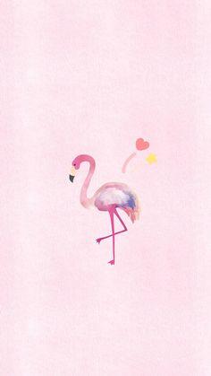 Flamingo Wallpaper, Wallpaper Iphone Disney, Pastel Wallpaper, Tumblr Wallpaper, Screen Wallpaper, Mobile Wallpaper, Pretty Phone Backgrounds, Iphone Background Wallpaper, Download Wallpaper Hd