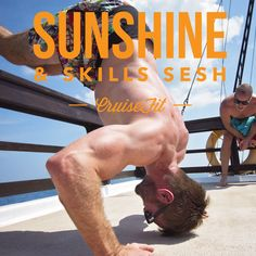 Sunshine & Skill Sesh - CruiseFit style. Bookings now open for 2016 via cruisefit.com.au. Choose from Secret Fiji or Beyond Bali… Or both! #cruisefit #crossfit #crossfitretreat #fitnessretreat #fitness #baliretreat #fijiretreat #crossfitcruise #retreat #bali #fiji