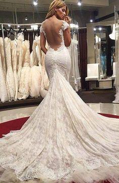 wedding dresses vintage_wedding dresses lace_wedding dresses mermaid www.babyonlinedre...