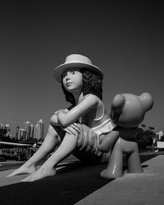 A nice and cute figure found along the park walk of Southport Australia