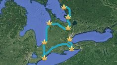 Go exploring in the southwest. This Map Will Take You On A Road Trip To The Most Beautiful Provincial Parks In Southwestern Ontario Vacation Trips, Day Trips, Vacations, Ontario Parks, Canada Ontario, Places To Travel, Places To Go, Ontario Travel, Hiking Spots