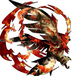 Talonflame is probably one of the coolest looking birds out there :)