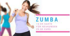 ZUMBA - Zehnerkarte für Neukunden  nur 29.00 Euro  http://www.centerofdance.net/pricelist?utm_campaign=coschedule&utm_source=pinterest&utm_medium=CENTER