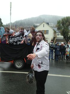 The American Express Street Parade #zombie #winterstartshere #Queenstown #NewZealand