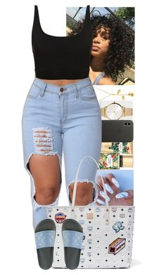 Apr 2020 - A fashion look from February 2018 by sereniityyyyy featuring MCM, Paul Smith, Apple, Gucci and Victoria's Secret Boujee Outfits, Cute Swag Outfits, Dope Outfits, Polyvore Outfits, Stylish Outfits, Summer Outfits, Fashion Outfits, Teenager Outfits, College Outfits