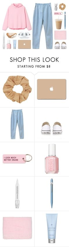 """«i ain't even think of leaving sometimes»"" by december-berry ❤ liked on Polyvore featuring Topshop, 3M, Converse, Various Projects, Essie, Sephora Collection, Caran D'Ache, Blumarine, Drybar and PyroPet"