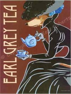 Earl Grey Tea painting - original is in our kitchen