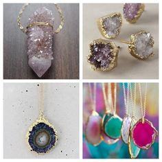 Trend of the Week:: Raw Gemstone Jewelry — Kelsey's Closet