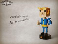 LEGO Fallout Vault Boy is truly S.P.E.C.I.A.L.