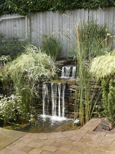 Small Waterfall Pond Landscaping For Backyard Decor Ideas 83