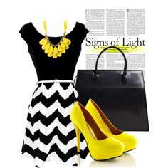 Yellow Love! by jodiescloset on Polyvore