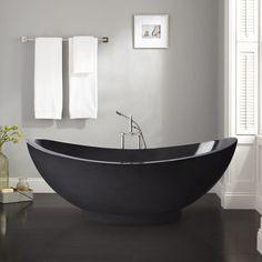 Bathtubs For Sale, Black Bathtub, Stone Bathtub, Marble Bathtub, Carrara Marble, Stand Alone Tub, Freestanding Tub Filler, Modern Master Bathroom, Bathroom Grey