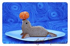 Playful Lunch: Seal Sandwich
