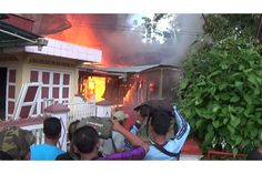 Bocah 5 Tahun Main Api Dua Rumah Ludes Terbakar