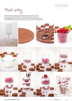 Step by step cake pops in Sweet Living Magazine Issue 4