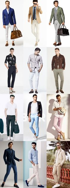 The Great Sockless, Ankle-Baring Lookbook Inspiration with Lightweight Casual Trousers