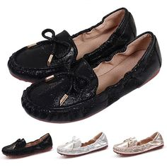 Hot Women Flat Shoes Solid Color Casual Shoes Slip On Ballerinas Shallow Loafers