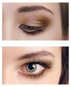 Subtle highlights for hooded eyes