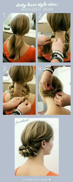Box braids in braided bun Tied to the front of the head, the braids form a voluminous chignon perfect for an evening look. The glamorous touch: mix plum, caramel and brown locks. Box braids in side hair Placed on the shoulder… Continue Reading → Work Hairstyles, Pretty Hairstyles, Wedding Hairstyles, Braid Hairstyles, Hairstyle Ideas, Party Hairstyle, Perfect Hairstyle, Black Hairstyle, Simple Hairstyles