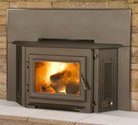 3100i wood insert - steel - by Quadra-Fire