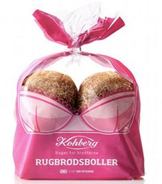 Rugbrødsboller by Kohberg. So clever....for a beautiful Cause.