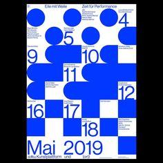 Poster by Dorothee Dähler 🇨🇭 for akku Kunstplattform #certainmagazine #dorotheedahler #graphicdesign Graphic Design Layouts, Graphic Design Posters, Graphic Design Typography, Graphic Design Illustration, Graphic Design Inspiration, Layout Design, Poster Designs, Grimm, Blue Poster