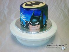 Batman Cake by Cake Cera Cera www.CakeCeraCera.com