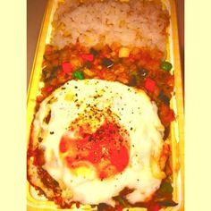 挽き肉使わず野菜だけ‼ - 3件のもぐもぐ - 野菜たっぷりドライカレー弁当 by mosukeeee