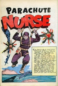 Parachute Nurse, June 1943.