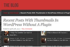 How To Display WordPress Recent Posts without Plugins