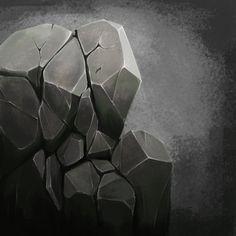 Handpaint Rocck Texture by CanGood.Art