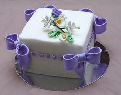 Cakes, Cupcakes e Cake Pops: Bolo Quadrado - Cake Designer II