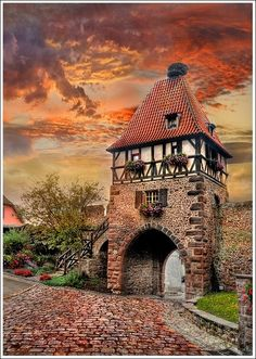 Chatenois, Alsace #France