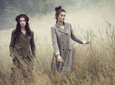 Cabbages & Roses Autumn 2013 - Models Millie Brady & Sophie Strutt