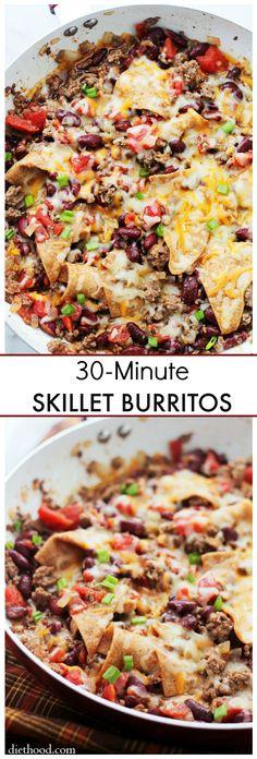 Skillet Burritos – O
