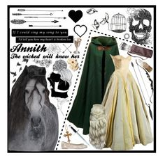 """""""Annith of Mortain"""" by fridaoc ❤ liked on Polyvore featuring Helen, Rock 'N Rose and Jayson Home"""
