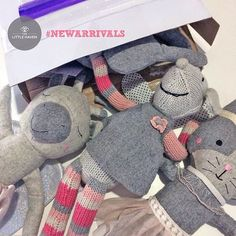 Anyone for a cuddly softie... New arrivals ready online today!! #newarrivals #thelittlehaven