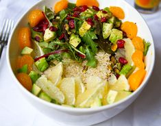 Sunrise Citrus Salad: Who says you can't have salad for breakfast? #MeatlessMonday