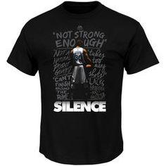 Stephen Curry Golden State Warriors Majestic Silence the Critics T-Shirt - Black