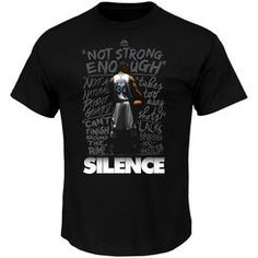 Stephen Curry Golden State Warriors Majestic Silence the Critics T-Shirt - Black