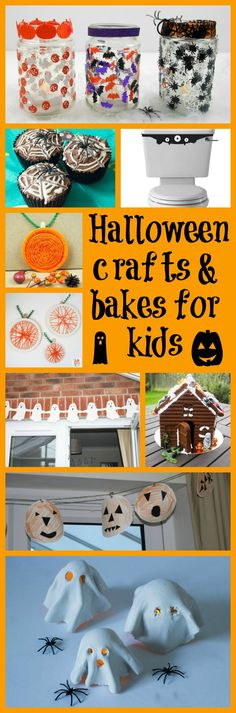 halloween crafts for toddlers Halloween crafts for kids of all ages that are super and simple. Enjoy the season with these simple Halloween makes and bakes for children. Fun Halloween Games, Halloween Crafts For Toddlers, Toddler Halloween, Halloween Snacks, Crafts For Kids To Make, Craft Activities For Kids, Halloween Party Decor, Toddler Crafts, Diy Halloween