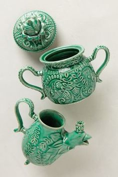 Anthropologie Losin Sugar & Creamer #anthrofav #greigedesign